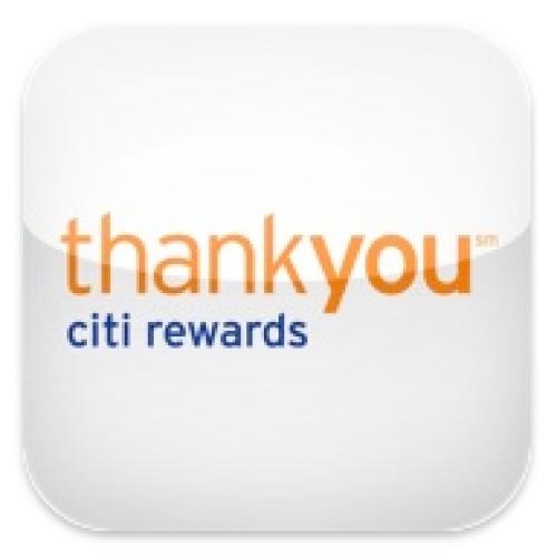 Citi Thankyou points TYP